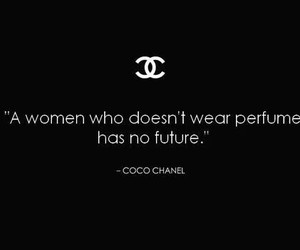 black and white and chanel image