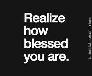 blessed and quotes image
