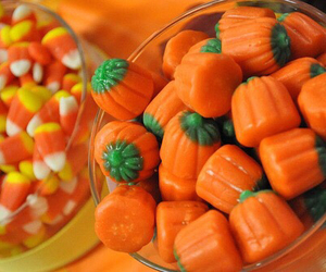 Halloween, candy, and orange image