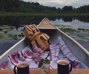 boat, chocolate, and Hot image