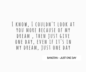 bts, bangtan boys, and just one day image