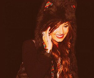 demi lovato, demi, and smile image