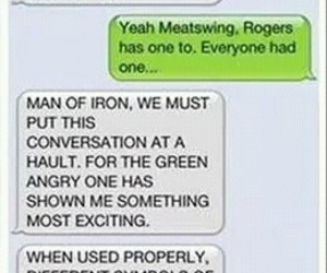 funny, iron man, and thor image