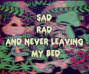 rad, grunge, and sad image