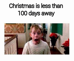 christmas, impatient, and home alone image