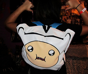 backpack, photography, and adventure time image