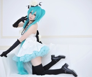 cosplay and hatsune miku image