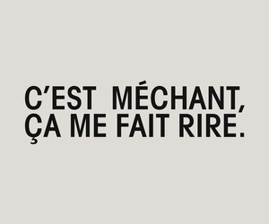 laugh, funny, and méchant image
