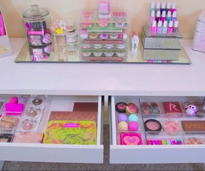 cute little make up table image