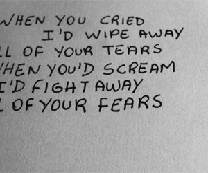 cry, evanescence, and fears image