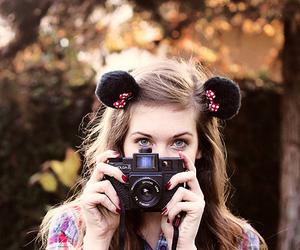 girl, camera, and cute image