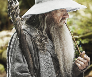 gandalf, the hobbit, and lord of the rings image