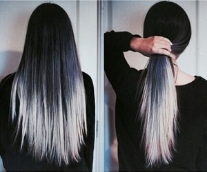 amazing, hair, and black image