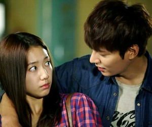 lee min ho, the heirs, and park shin hye image