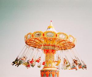 photography, carousel, and fun image