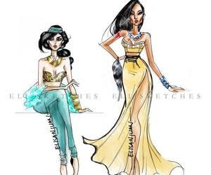jasmine and pocahontas image