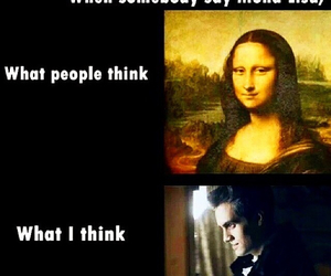 panic! at the disco, brendon urie, and mona lisa image