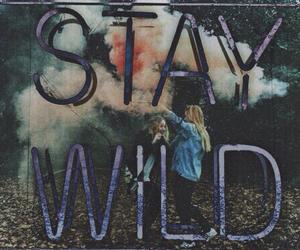 grunge, stay wild, and girls image