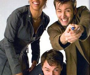 doctor who and martha jones image