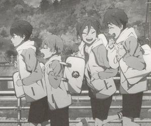 haru, rin, and makoto image