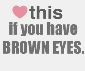 love, eyes, and brown image