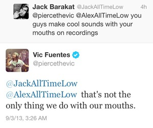 jack barakat, vic fuentes, and all time low image