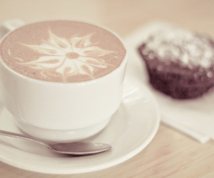 coffee, food, and cupcake image