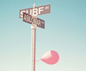 pink, balloon, and blue image