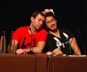 markiplier and lordminion777 image