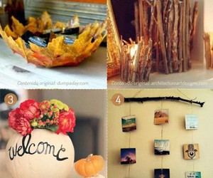 autumn, decoration, and diy image