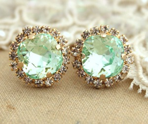 earrings, jewelry, and diamond image