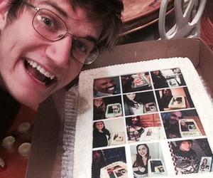 cake, comedian, and delicious image
