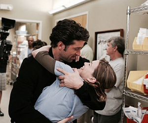 grey's anatomy, couple, and derek image