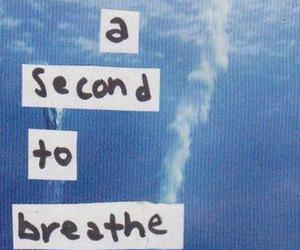 quote, breathe, and second image