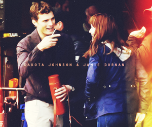 Jamie Dornan, fifty shades of grey, and anna steele image