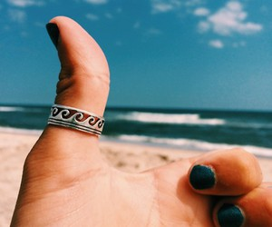 girl, ring, and summer image