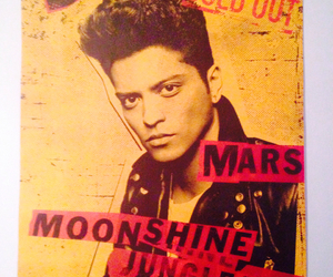 poster, madison square garden, and bruno mars image