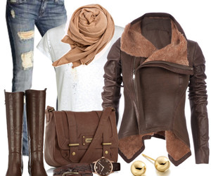 boots, handbag, and jeans image