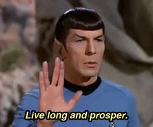 star trek, spock, and live image