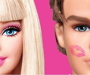 barbie, ken, and kiss image