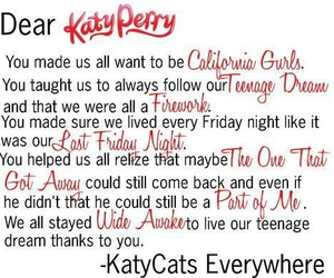 fireworks, california gurls, and the one that got away image
