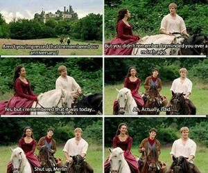 <3, the adventures of merlin, and king arthur image