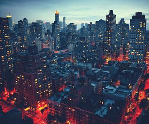 buildings, city, and landscape image