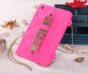 case, Moschino, and pink image