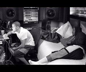 b&w, studio, and j. cole image