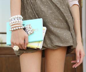 fashion, bracelet, and book image
