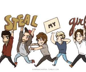 fanart, one direction, and steal my girl image
