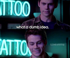 quote, teen wolf, and the maze runner image