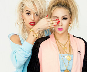 CL, 2ne1, and rita ora image