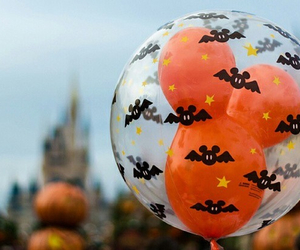 Halloween, disney, and balloons image